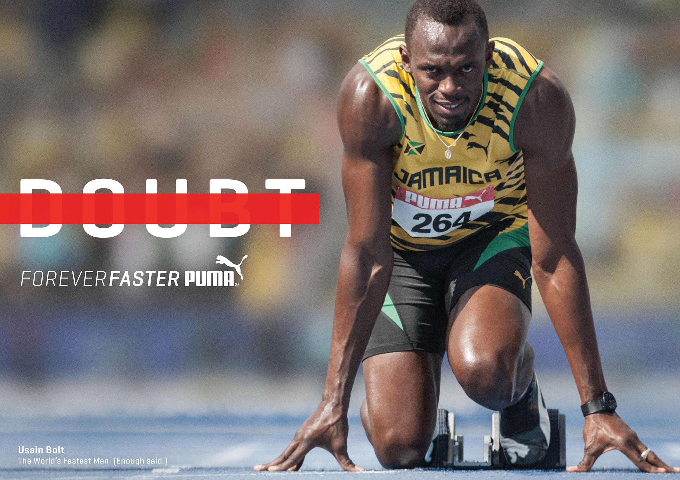 Puma Forever Faster   Sports marketing, Fastest man, Twitter s