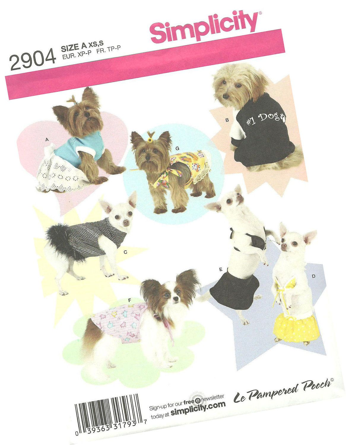 Sewing patterns for apparel, home decor and crafts, and notions ...