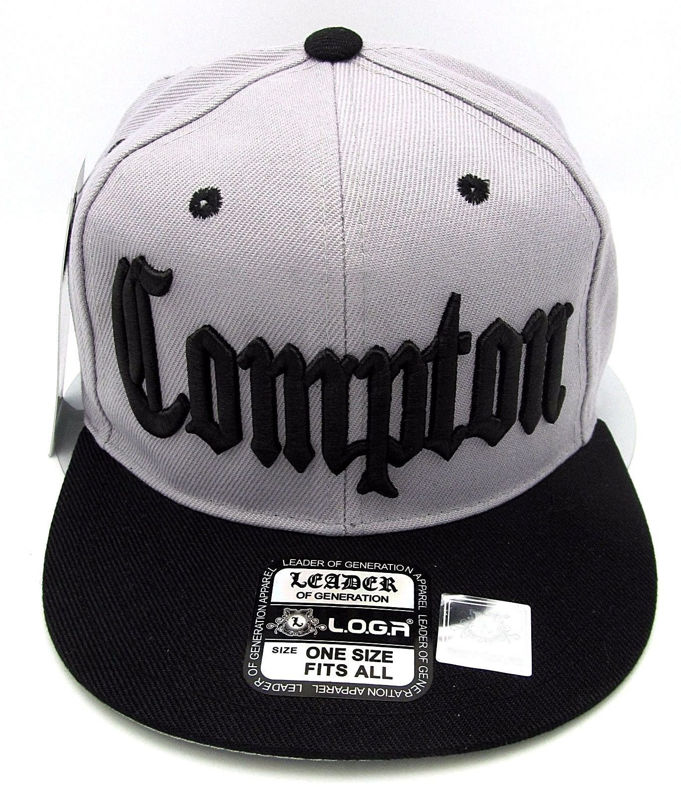 59f5bb4d Details about COMPTON Snapback Hat South Central Los Angeles ...
