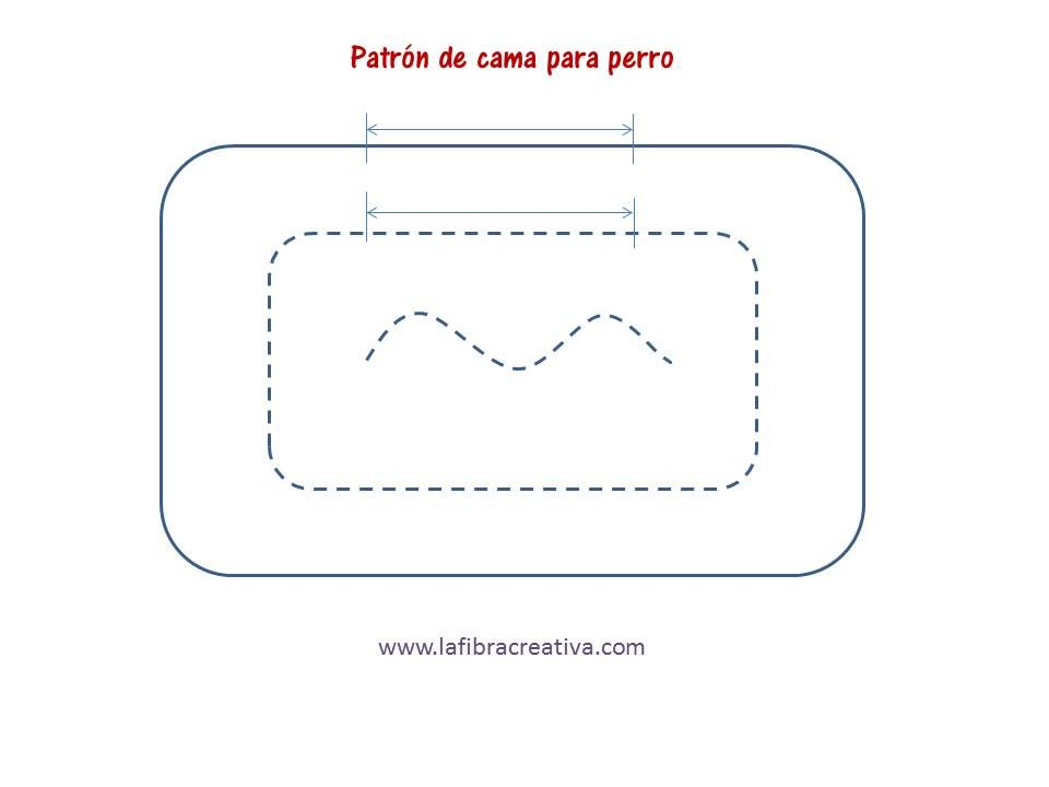patrón cama perro | REX Y KYRA | Pinterest | Camas para perros, Cama ...