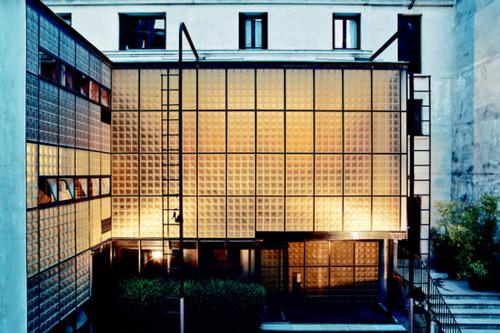 Maison de Verre. 31 Rue St-Guillaume, Paris | EXTERIOR | Pinterest ...
