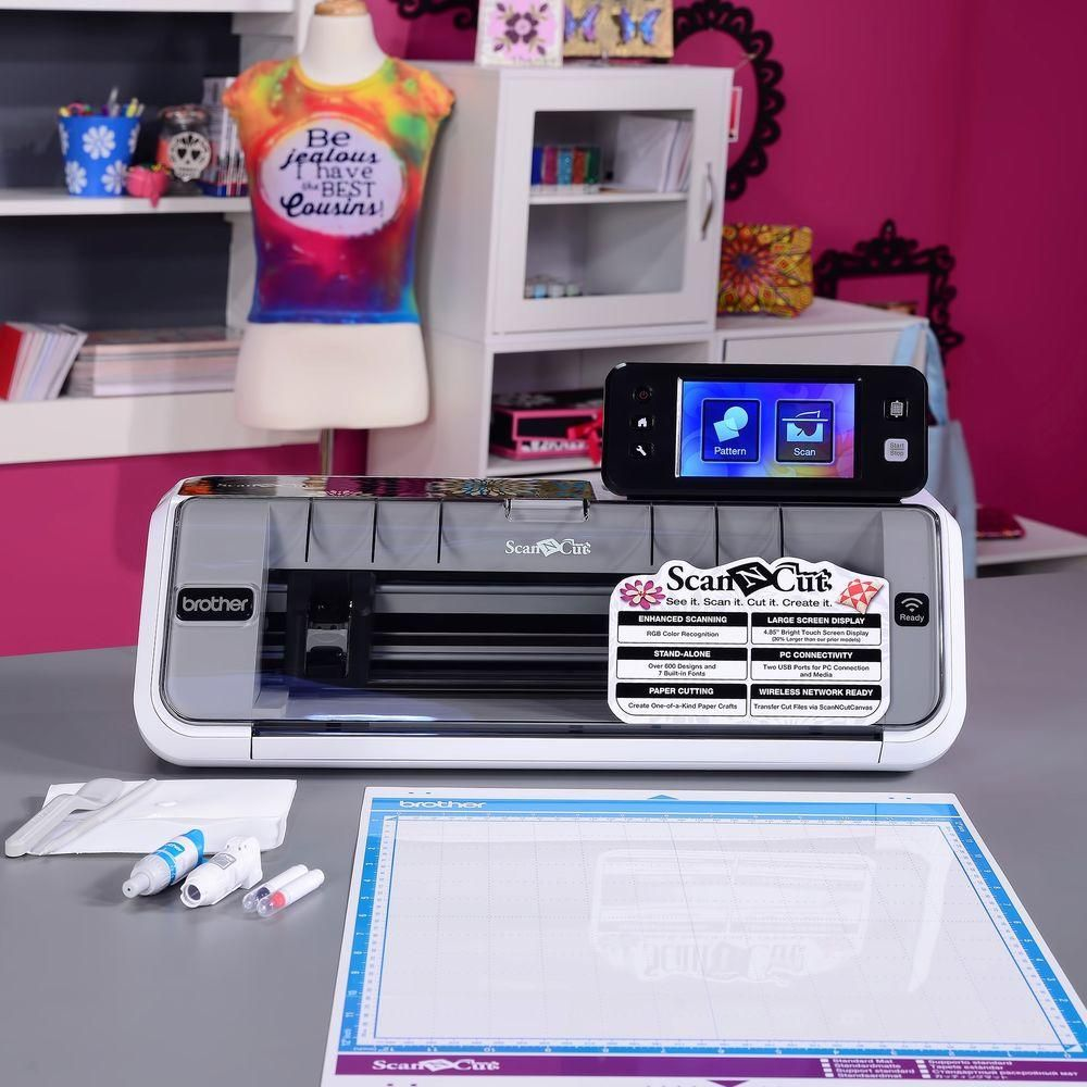 Brother ScanNCut2 CM650W Fabric Paper Cutting Machine+Built-In Scanner+USB Stick