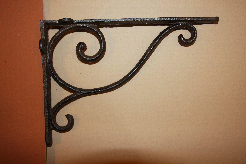Shelf Brackets Elegant Victorian Shelf Brackets Elegant Corbels Cast Iron Shelf Brackets 9 1 4 Inch Corbels