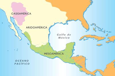 Regiones Prehispnicas Aridoamrica Oasisamrica y Mesoamrica