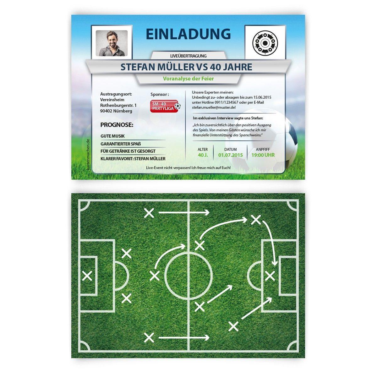 Geburtstagseinladungen   Fussball Spielerstatistik #geburtstag #einladung  #geburtstagseinladung #birthday #invitation #fußball #statistik