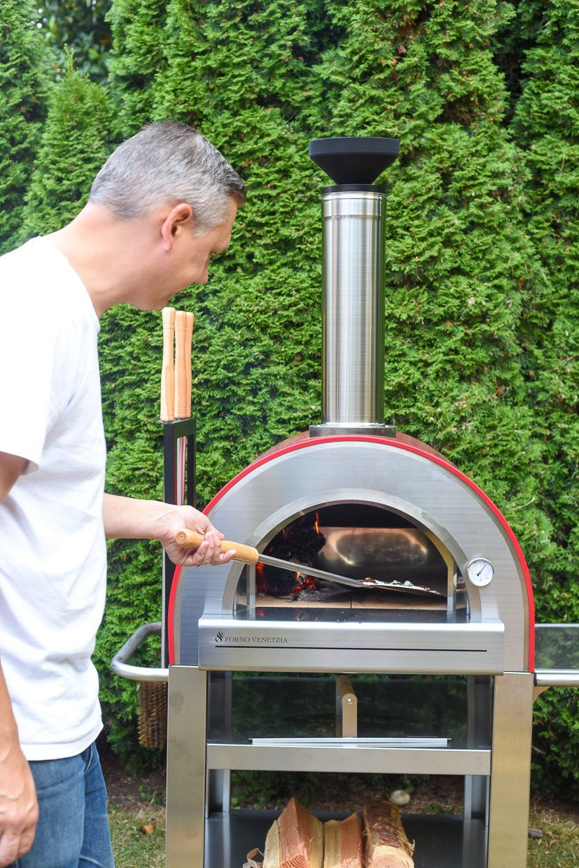 Wood Fired Outdoor Pizza Oven Backyard Party