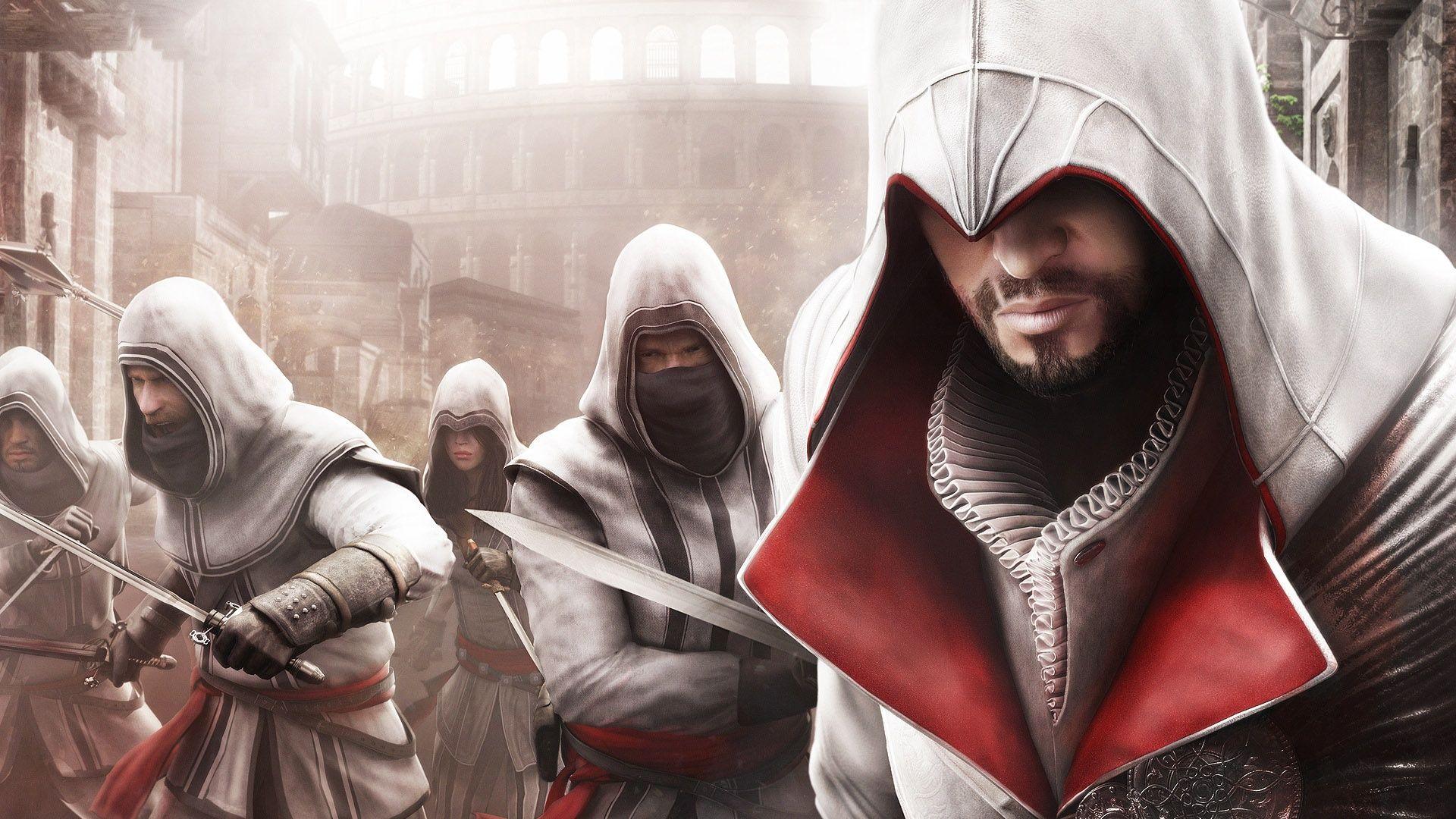 Ezio Auditore Da Firenze Assassin S Creed Brotherhood