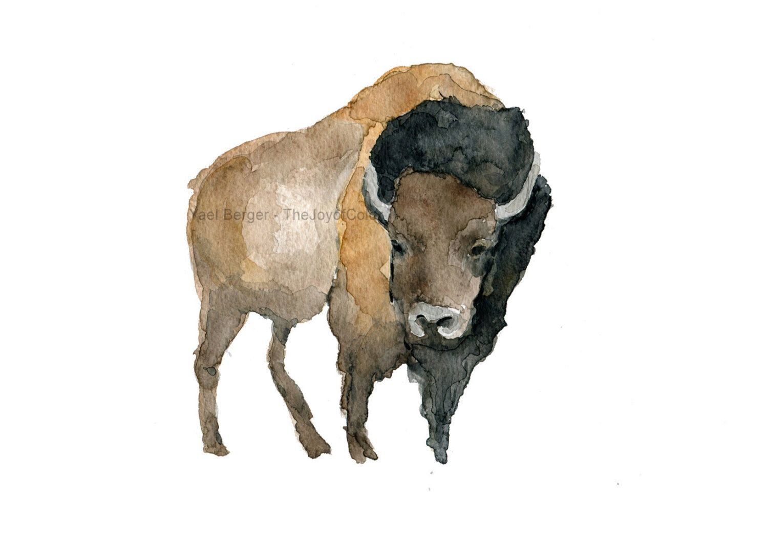 Pin By Celtic Montanan On Art Animals Bison Art Woodland Art