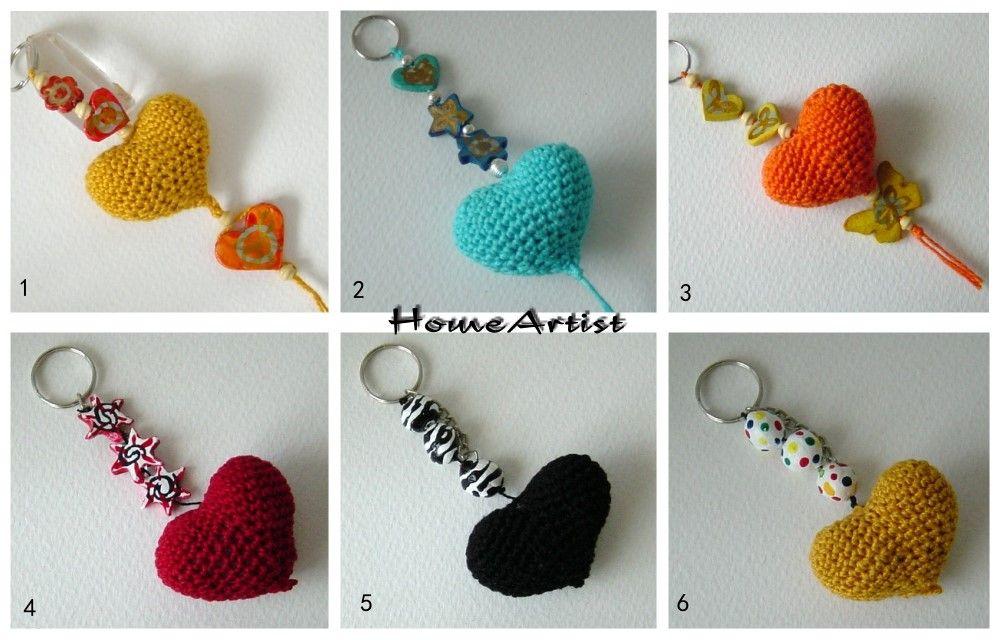 Llavero de crochet   Inspiración Boda   Pinterest   Häckeln, Mama ...