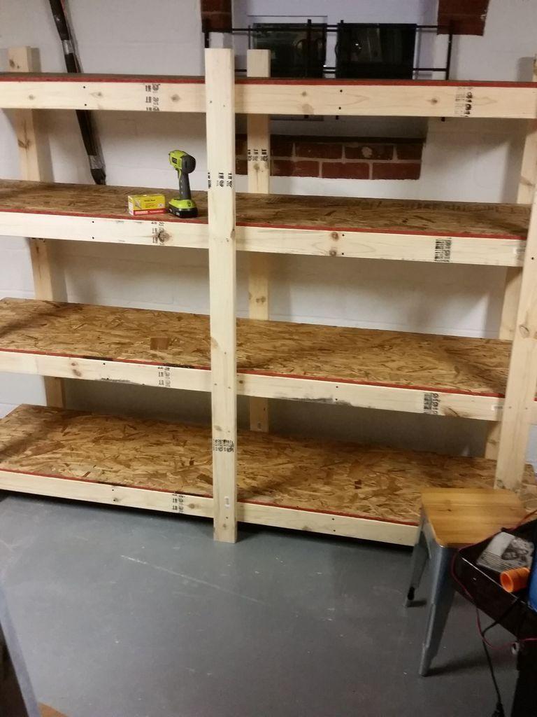 Cantilever Basement Shelves Cantilever Basement Shelves Build Easy