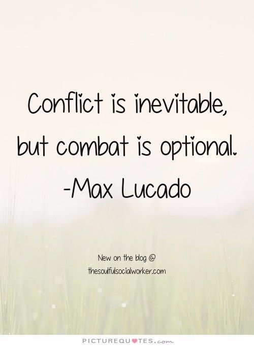 relationship and conflict quotes