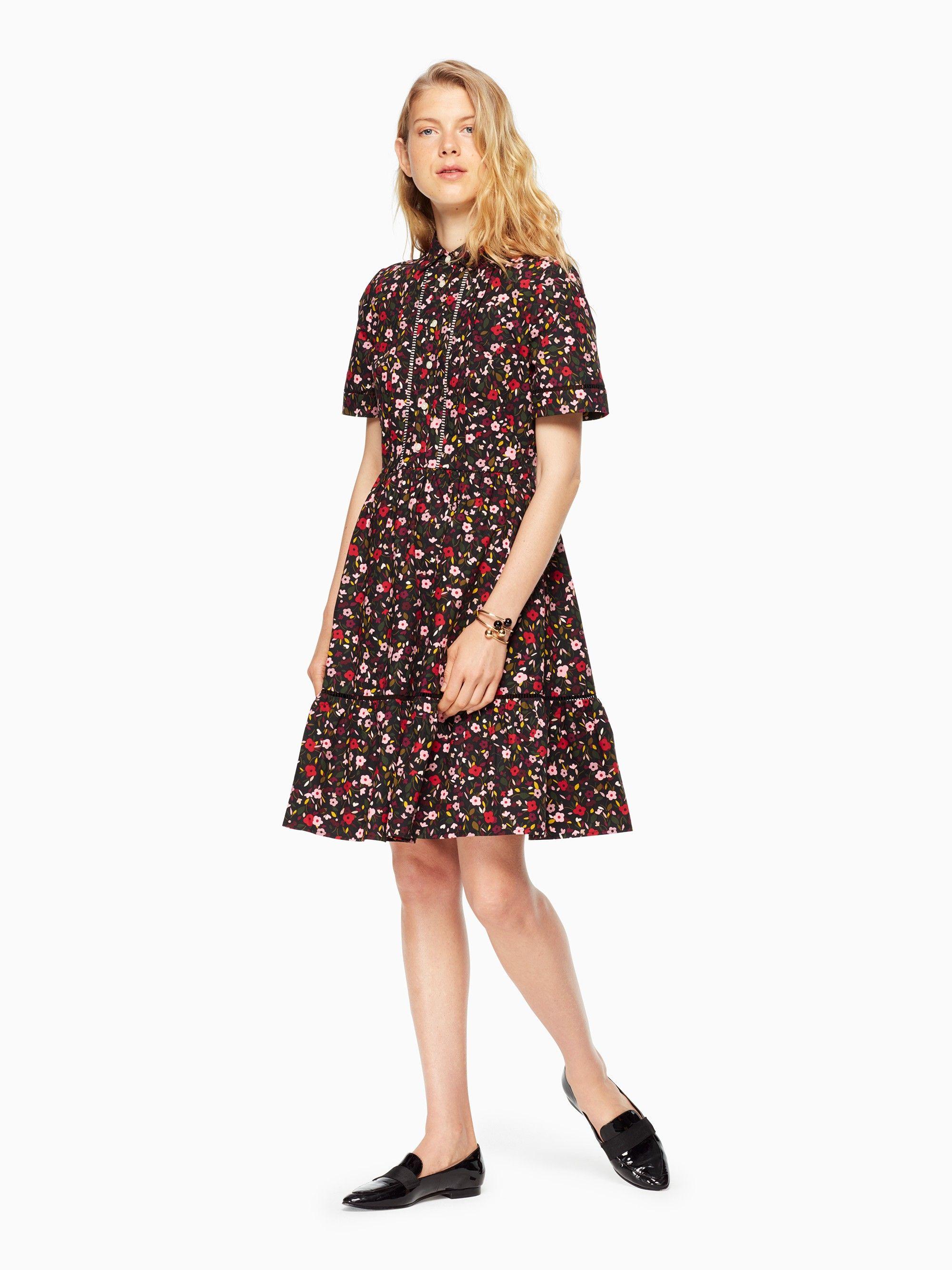 efb370f66cb KATE SPADE boho floral shirtdress.  katespade  cloth