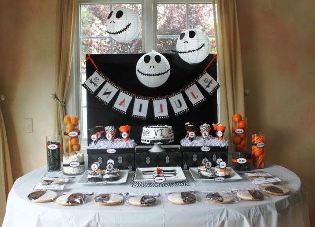 nightmare before christmas party decorations google search