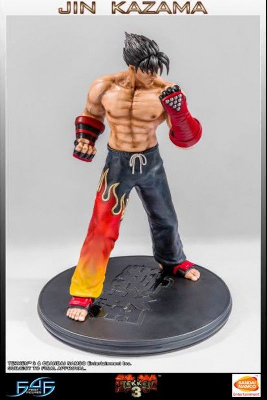 First 4 Figures Tekken 3 Jin Kazama Statue Jin Kazama Character Statue Spiderman Action Figure