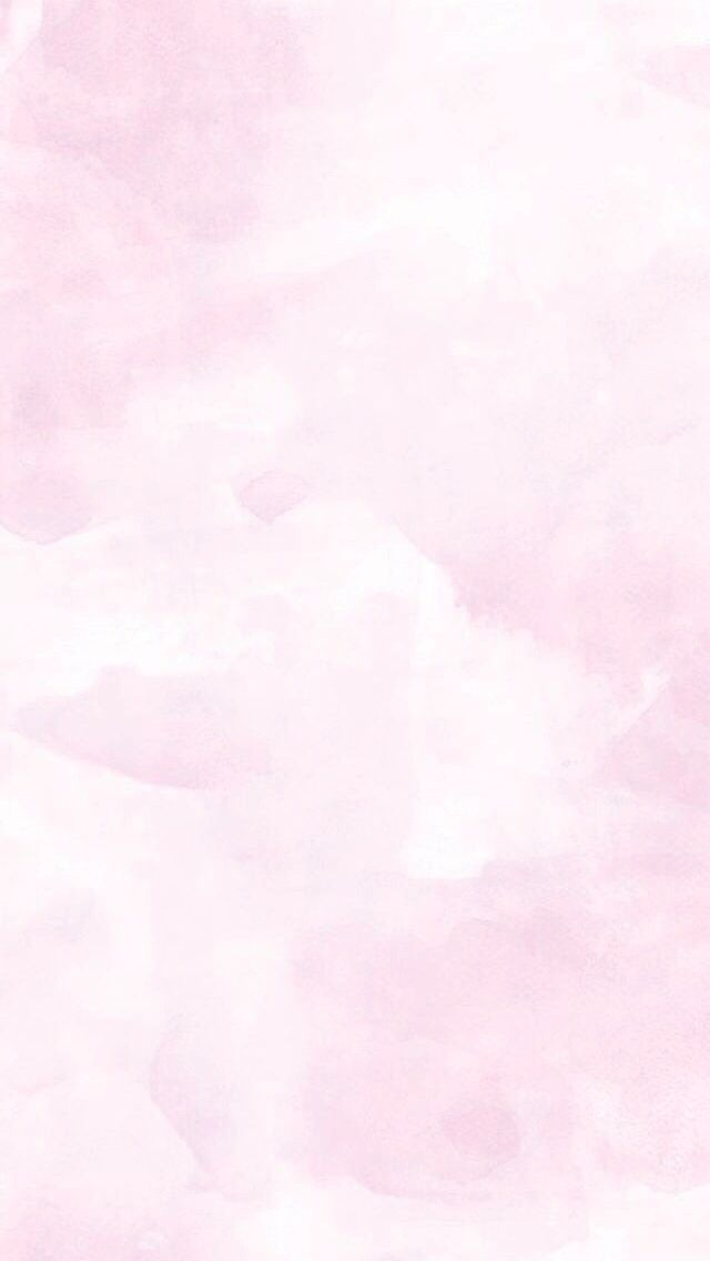 Pink dreamy cloudy clouds watercolour phone wallpaper
