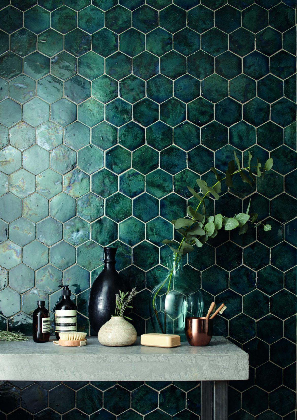 Domus Tile Uk Terracotta Range Im In Love With The Green Tile Its So Interesting And Different But Still In Tile Trends Handmade Home Decor House Design