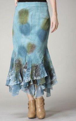 bfaf25c171ea3 Unique Denim Skirts Found at Apostolic Clothing's Website | MY ...