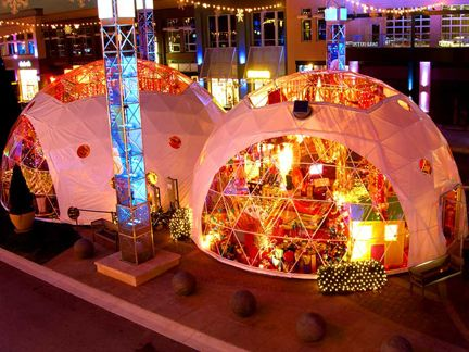 pop up store / dome tent