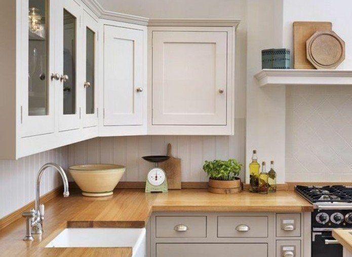 nice Idée relooking cuisine - magnifique cuisine blanche et grise