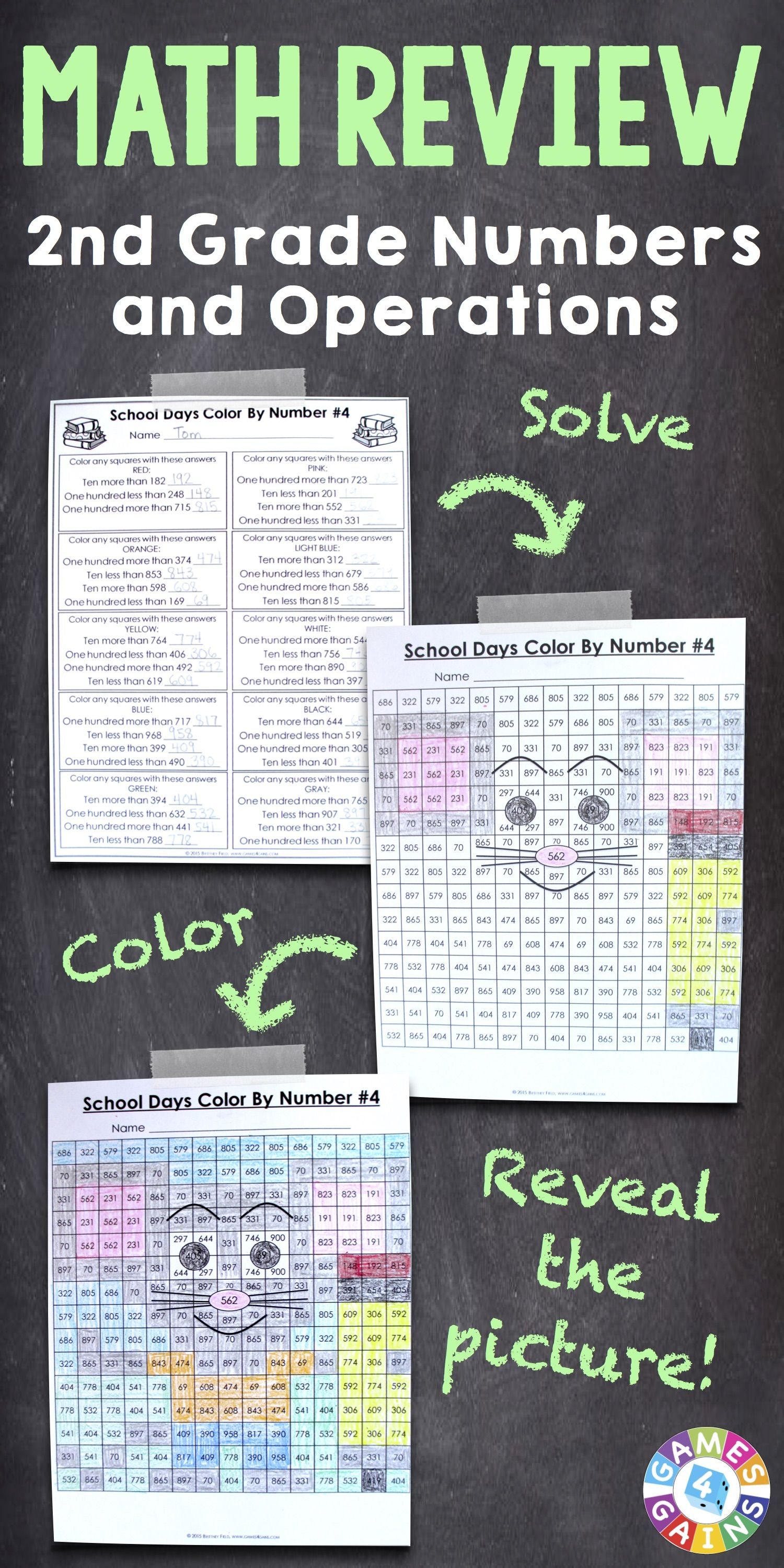 2nd Grade Place Value Worksheets 3rd Grade Back To School