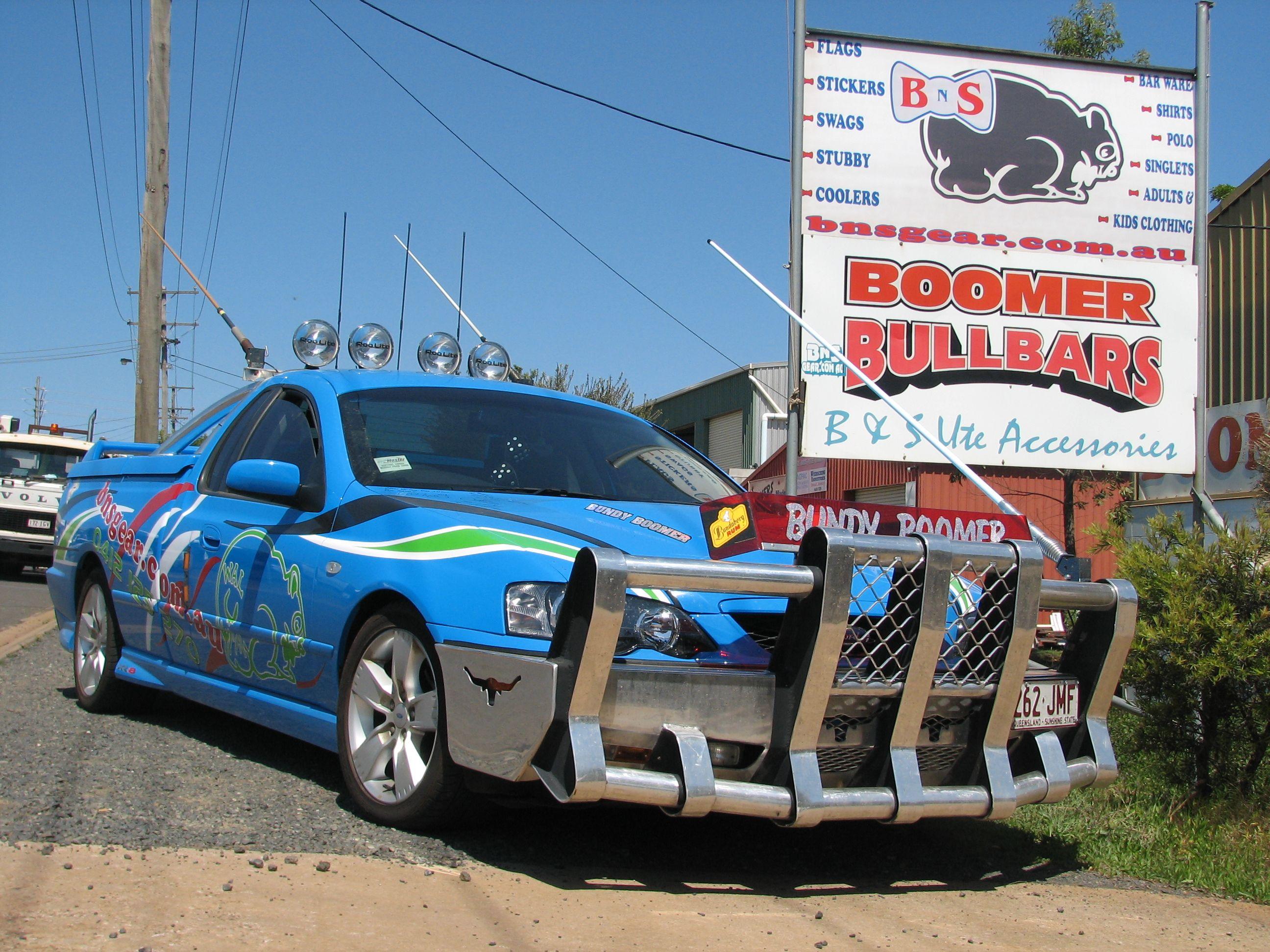 Boomer Bullbars Landcruiser Ute Dream Cars Big Trucks