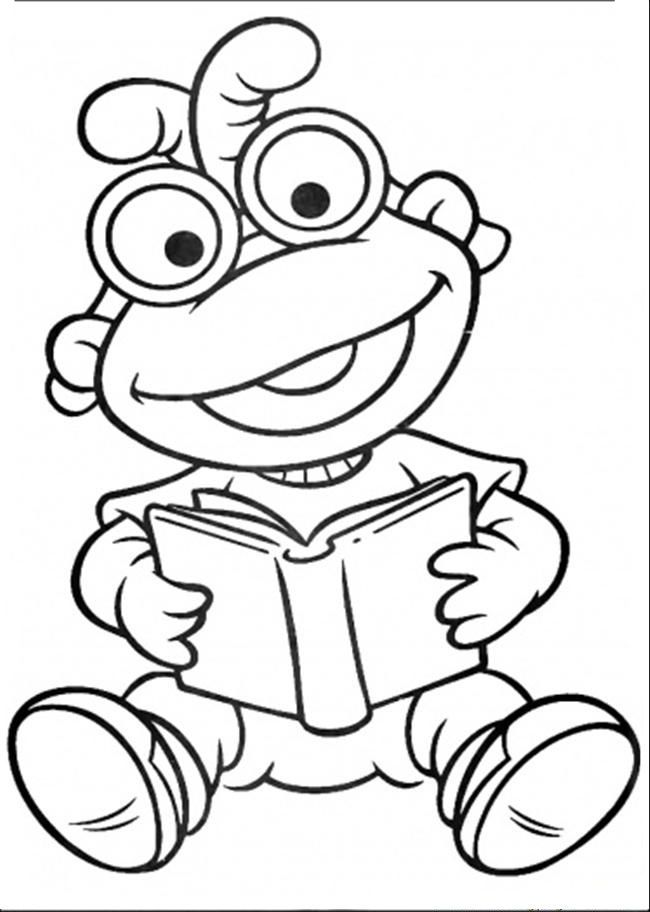 Muppet Show Read The Book | Muppet Show Coloring Pages | Pinterest ...