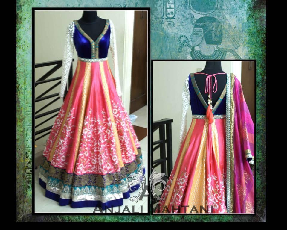 Anjali Mahtani Couture   Anjali mehatha   Pinterest   Trajes indios ...