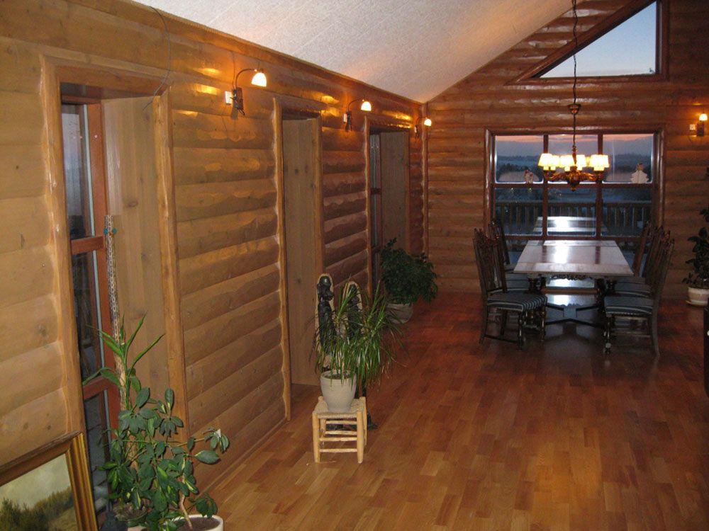 Half Log Siding Log Home Interior Log Siding Interior Trim