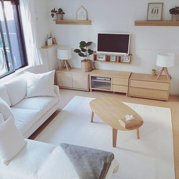 無印良品の家具を使ったお部屋別インテリアコーデをご紹介☆ | folk