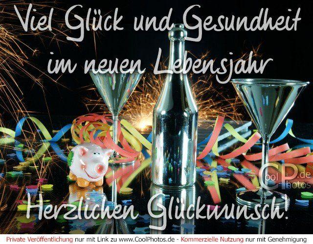 Coolphotos De Viel Gluck Und Gesundheit Im Neuen Lebensjahr