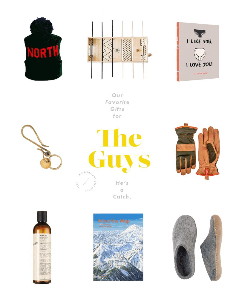 W&D Gift Guide: For The Men