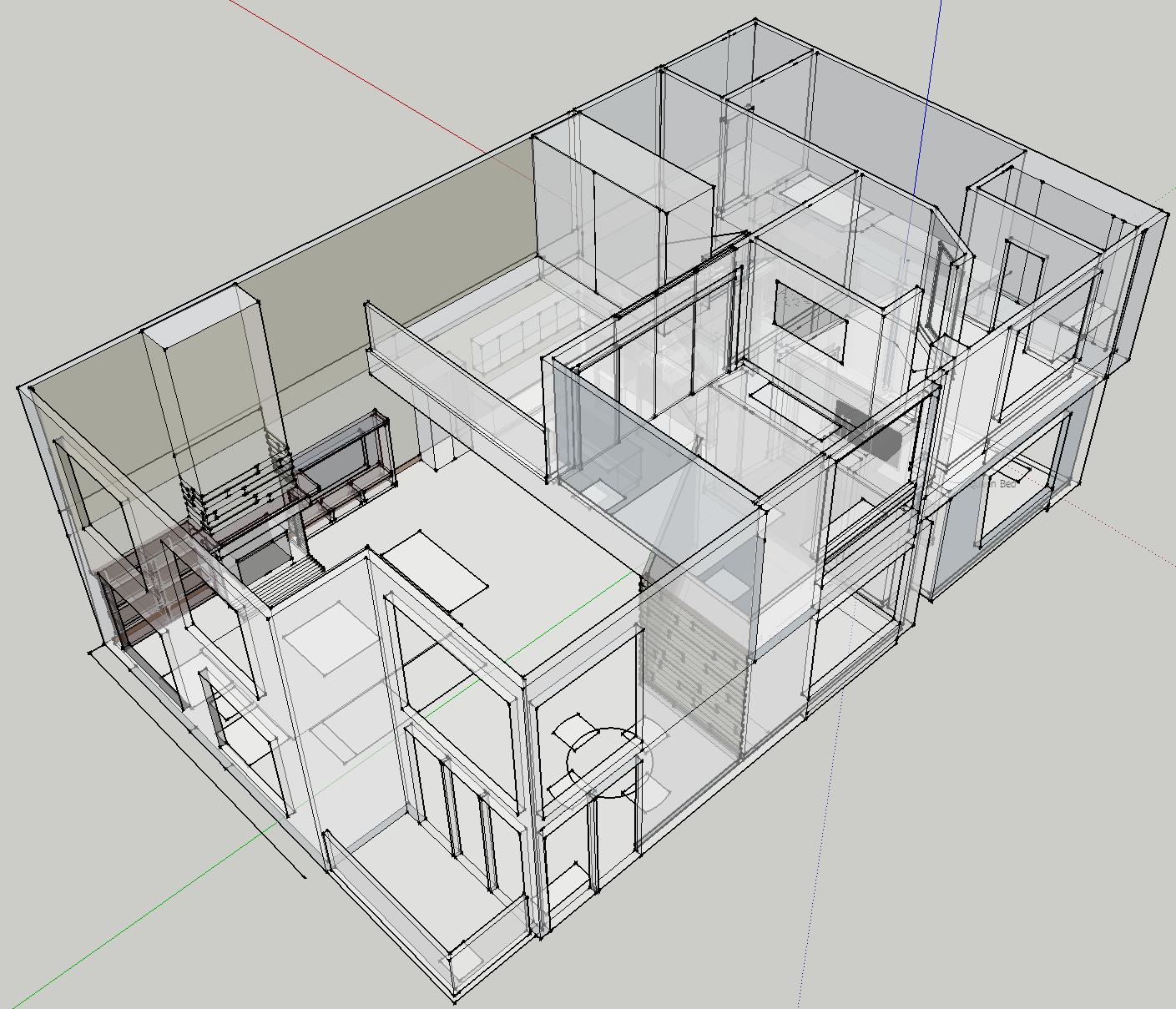 Maddalena Design Loft Sketchup Interior Design Plan Design Design Planning