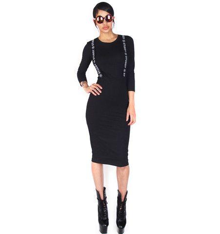 STUSSY Banded Bodycon Dress | Patricia Field