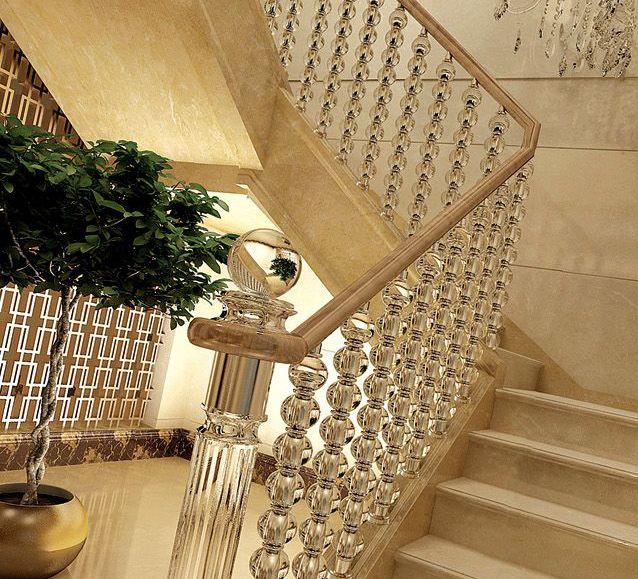 Best Acrylic Stair Railing Stair Remodel Stair Railing 400 x 300