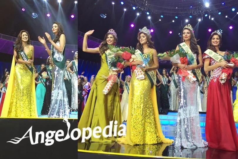 Katherine Espín Gómez is Miss Earth Ecuador 2016 - Indian