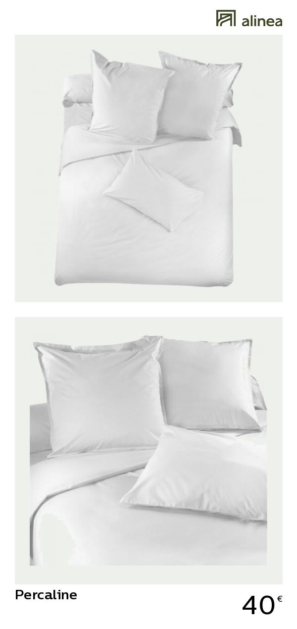098a05685c4e7 alinea   percaline housse de couette 220x240cm unie en percale de coton  textile linge de lit