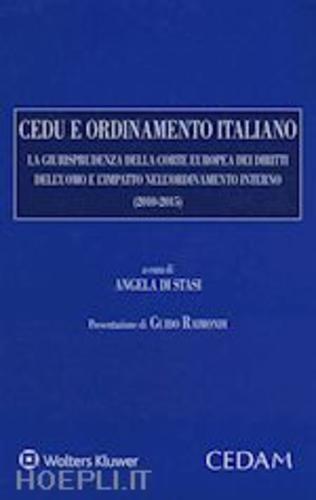#Cedu e ordinamento italiano  ad Euro 100.00 in #Diritto e fisco diritto diritto #Cedam