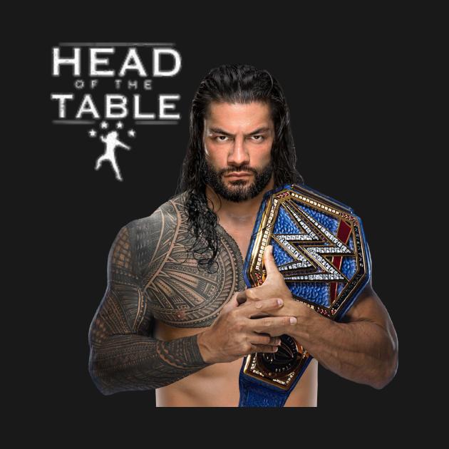 Roman Reigns Head Of The Table Roman Reigns Kids T Shirt Teepublic In 2021 Roman Reigns Logo Roman Reigns Roman