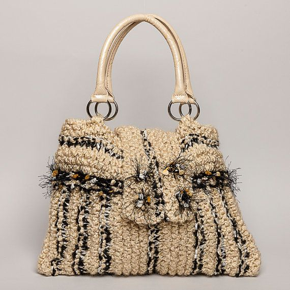 PURSE HAND KNITTED  One Of A Kind