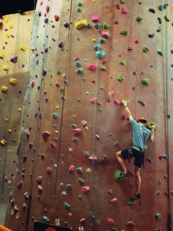 Inspire Rock Canyon Largest Indoor Climbing Rock Gym In Texas Nearly 17 000 Sqft Of Climbing Is Everything Bigger In T Indoor Climbing Spring Texas Texas