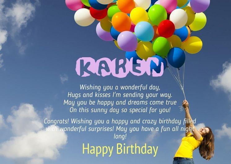 Happy Birthday Karen Quotes