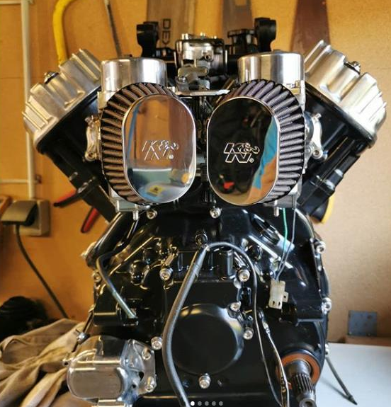 Protect your V Rod Motor with K&N stateoftheart filters
