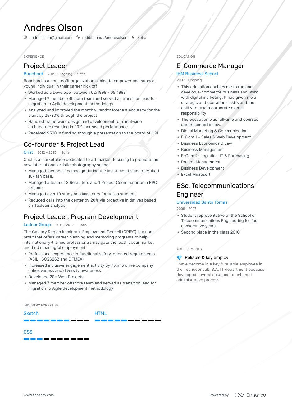 DOWNLOAD Project Lead Resume Example for 2020 Resume