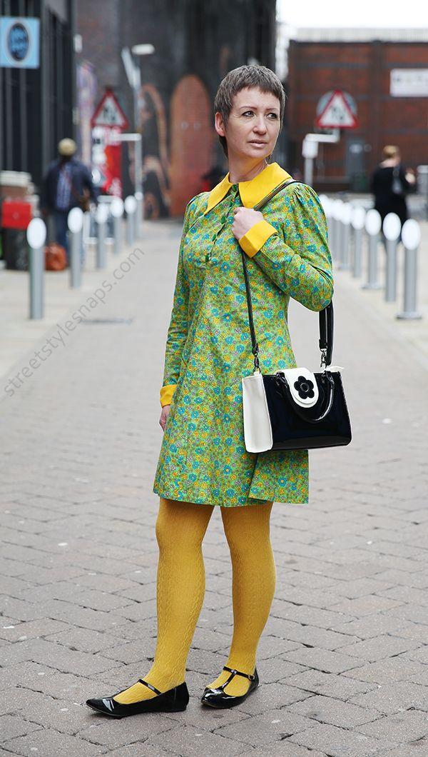 1960s Street Style Mod Vintage Retro Mary Quant Bag