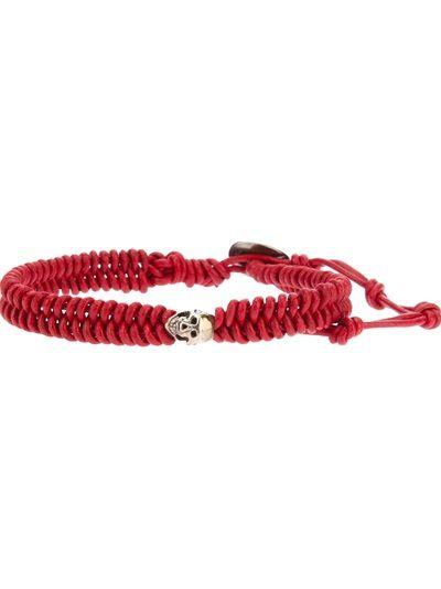 CHAN LUU Leather Skull Bracelet