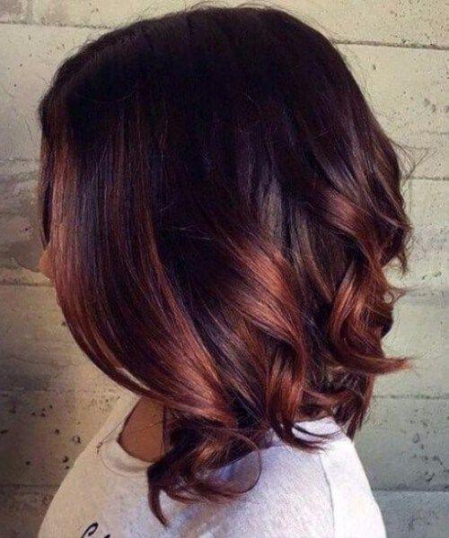 Kurze haare ombre hair