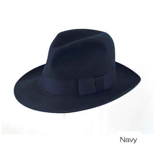 c4401a0d7 Swerford Fur Felt Fedora (exclusive to Top Secret Hats) | Mens hats ...