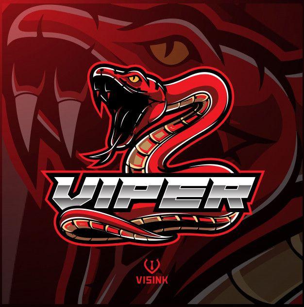 Viper Snake Mascot Logo