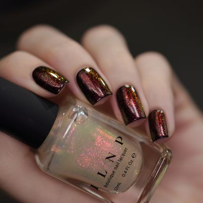 Scarlet - Red to Green Iridescent Topper Nail Polish by ILNP