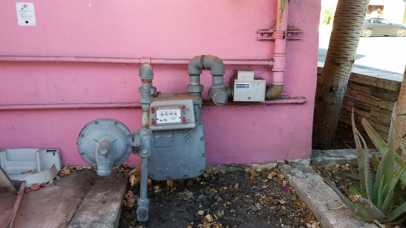 Earthquake Gas Shutoff valve http